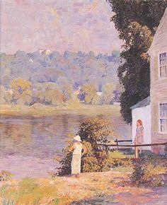 Beside the River - Daniel Garber