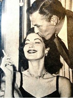 """""""We became lovers forever, eternally. Big words, i know, but i truly felt that no matter what happend, we would always be in love"""" Ava Gardner"""