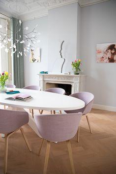 Ovale tafel! Femkeido Interior Design