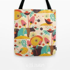 Mexican Dream Tote Bag by margin on Etsy