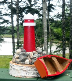 Lighthouse Wedding Table Centerpiece Led Lighthouse Number Beach Wedding  Lighthouse