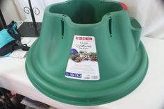 Christmas Tree Stand EZ H2O Home Logic Up Too 10 Foot Tree NEW 1.5 gallon water  #HomeLogic