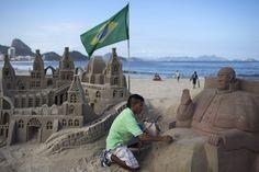The beach in Rio De Janeiro