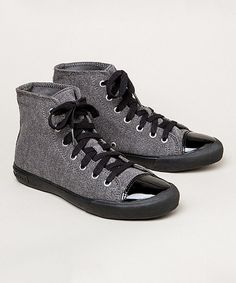 Look what I found on  zulily! Pewter Jersey Army Issue Hi-Top Sneaker 8044675a3