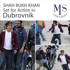 #Famous #Indian #Actor Shah Rukh Khan Set for Action in #Dubrovnik. Shah Rukh Khan will shoot high action scenes in Dubrovnik for Yash Raj Films upcoming movie `Fan`. #MSTravels
