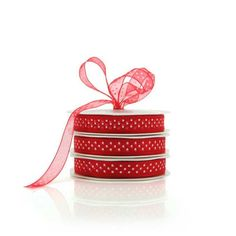 Tiny Dots Organza  - Whether you use plain fabric ribbon, decorative fabric ribbon, poly ribbon or pullbows, ribbon adds a great finishing touch to every gift. Your flowers, chocolates, bottle of wine or specially wrapped present will go down a treat with a beautiful bow to embellish it. We also do branded or logo printed ribbon in large runs, email us with your requirements and we'll see what we can do. Gift wrapping, Birthday, Christmas, Baby shower, Decorations,Wedding.