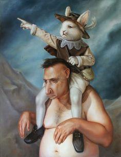 Peinture par Jose Luis Lopez Galvan
