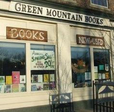 Green Mountain Books and Prints is a 32 year old family owned independent bookstore. We carry a selection of new, used and rare books. Our stock numbers around 35,000 volumes. We are members of Vermont Antiquarian Association, American Bookseller's Association, and New England Independent Bookseller's Association.