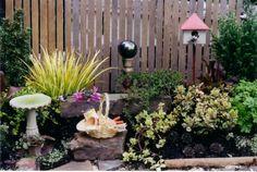 The First Miniature Garden
