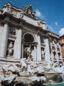Fontaine de Trevi, Rome