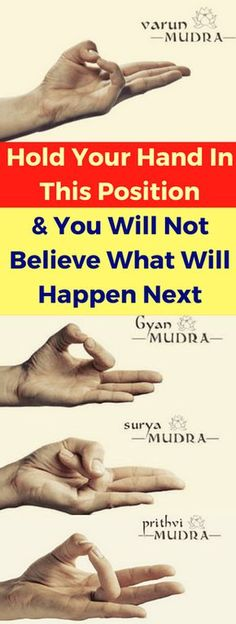 HOLD YOUR HAND IN THIS POSITION AND YOU WILL NOT BELIEVE WHAT WILL HAPPEN NEXT – Today Health People