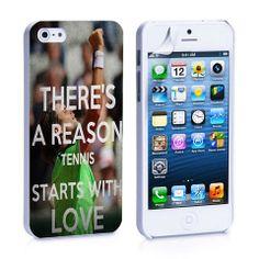 Love Tennis iPhone 4, 4S, 5, 5C, 5S Samsung Galaxy S2, S3, S4 Case – iCasesStore