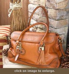 Concealed Carry Purse - Smooth Aged Leather Satchel | GunHandbags.com  I'm gonna need this. Pronto.