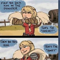 Haha...oh Astrid...