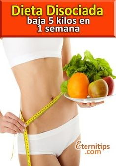 La dieta disociada es característica por ser un tipo de régimen alimenticio…