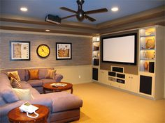 establish Your Room For Home Theater
