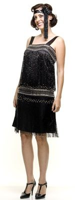 Great Gatsby Clothes- Drop Waist dress $168.00 Store: Unique Vintage