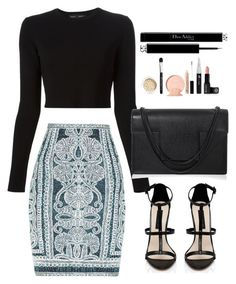 """Untitled #1826"" by dceee ❤ liked on Polyvore featuring Proenza Schouler, Hervé Léger, Forever New, Yves Saint Laurent and Christian Dior"