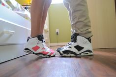 Coral Rose 6's and Oreo 6's