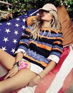 model Toni Garrn