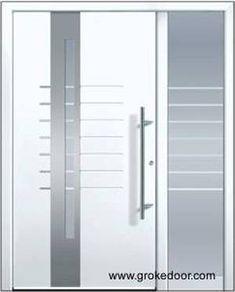 Puerta exterior de aluminio pide tu presupuesto gratis y for Puertas de entrada principal minimalistas