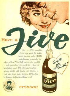 Vintage Ads, Vintage Food, Old Magazines, Old Ads, Magazine Ads, Built Environment, Vintage Recipes, Finland, Art Decor