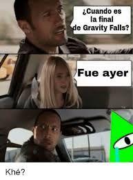 Resultado de imagen para memes gravity falls español