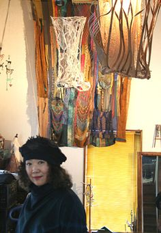 Chieko Aihara, Fiber Artist: love this work  ...link has very good history & description & wonderful photos of the almost-lost art of sprang (from  Yarntasting)