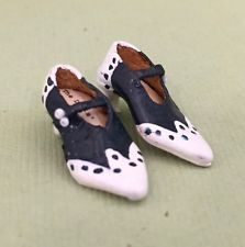 Sylvia Rountree, The Doll's Cobbler, IGMA fellow - leather spectator pumps