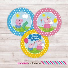 Peppa Pig invitation / Birthday Party Peppa Pig / by PostalUrbana