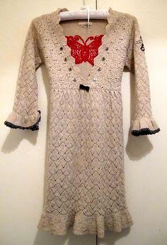 LOVE ODD MOLLY CLOTHING !!  ODD MOLLY Knit Dress Lambswool Tunic Size 2/UK 12   eBay