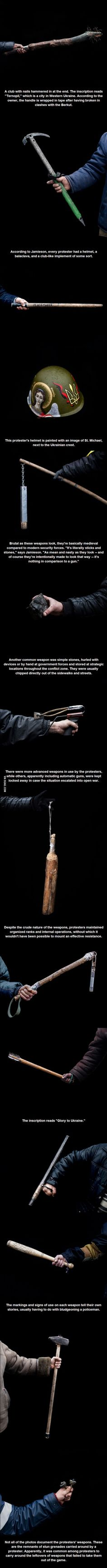 The Brutal Weapons of the Ukrainian Revolution