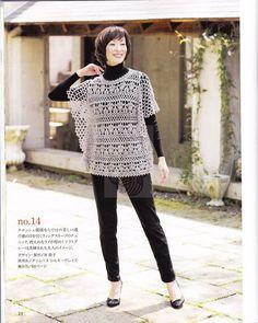Patrón #140: Blusa Calada a Crochet | CTejidas [Crochet y Dos Agujas]