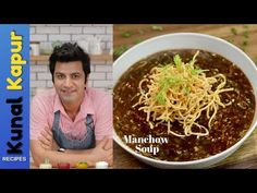 Enjoy your fav game of cricket as you gorge on this fabulous soup. Manchow Soup Recipe, Soup Recipes, Vegetarian Recipes, Cooking Recipes, Party Recipes, Yummy Recipes, Paneer Recipes, Indian Food Recipes, Aloo Gobi