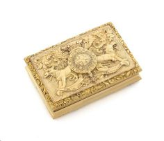 Earl of Uxbridge gold freedom box to make $108,500?