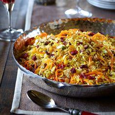 Riz à la persane (riz aux fruits secs et épices)