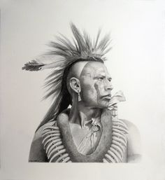 "Cherokee actor Wes Studi playing a pawnee in the movie ""Dances With Wolves. Native American Wisdom, Native American Pictures, Native American Artwork, Native American Artists, Native American History, Native American Indians, American Symbols, American Indian Tattoos, American Indian Art"