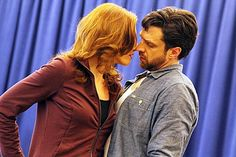 Raul Esparza with Jessica Phillips