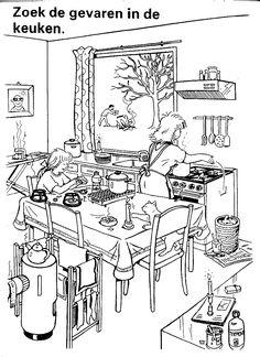 kleurplaat woonkamer | coloring pages | Pinterest | Coloring books ...
