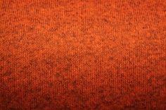 Gebreide sweaterstof roestbruin