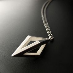 Placebo Necklace. $105.00, via Etsy.