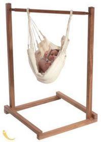 Baby Hängematte Babybett Ständer aus Holz - YaYita Baby - Hängemattenshop