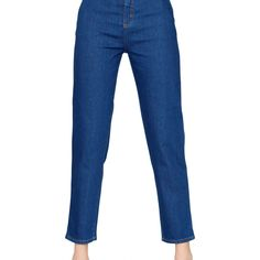 Mom Jeans Denim Medium Wash