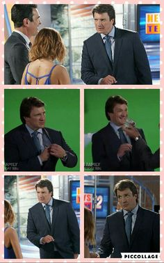 Series Movies, Movies And Tv Shows, Nathan Fillon, Modern Family, Collages, Castle, Husband, Posters, Film