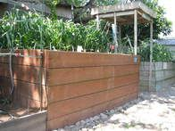 Gardening can be tough, but HGTVGardens community member  John  wouldn't let his bad back stand in the way: he crafted tall raised beds by stacking milk crates inside of a wooden surround. No more pain from bending over!