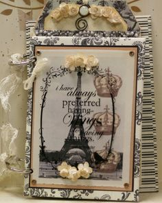 Polly's Paper. I love this and want to make it now! Work can wait, can't it?