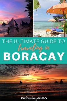 Planning to visit Boracay? Here's the ultimate guide to visiting Boracay.