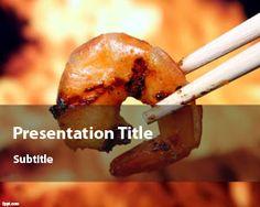 Shrimp PowerPoint Template   Free Powerpoint Templates