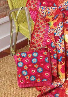 Mini messenger bag - free pattern