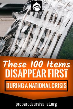 When disaster strikes you have to be prepared. This is why we are always on the lookout for survival essentials that we can store in case SHTF. But what items do we need to store exactly? these 100 items are vital to any survival kit, bug out bag or emerg Survival Games, Survival Essentials, Emergency Preparedness Kit, Emergency Preparation, Survival Supplies, Survival Prepping, Survival Skills, Survival Gear, Survival Quotes